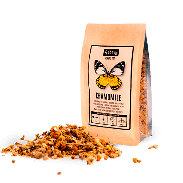 Shop Chamomile Herbal Tea online across Australia or in a Perth Koffeeworks