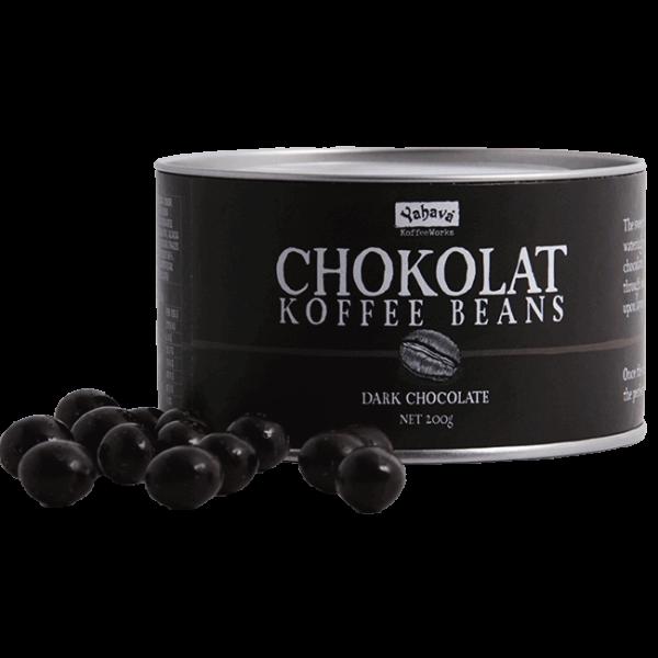 Shop Yahava's Chokolat Koffee: dark chocolate beans online across Australia or in a Perth Koffeeworks