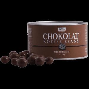 Shop Yahava's Chokolat Koffee: milk chocolate beans online across Australia or in a Perth Koffeeworks
