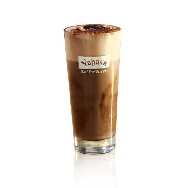 Hot Chocolate on transparent background. Delicious iced or hot chocolates available through Yahava cafes in Perth, Swan Valley and Margaret River.