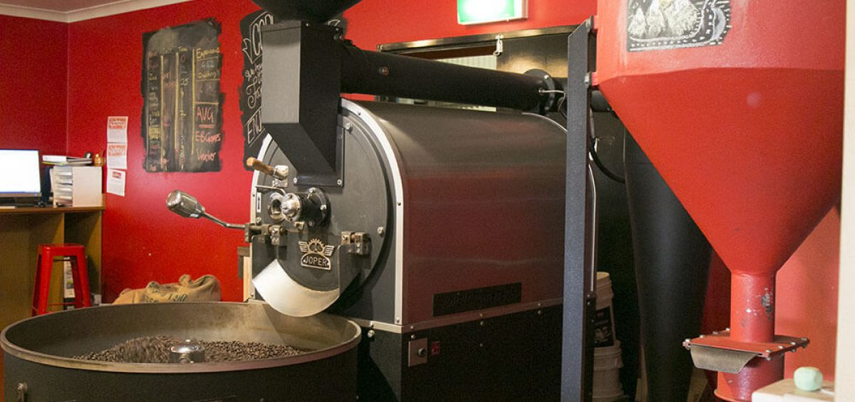 Perth's best coffee being roasted at Yahava