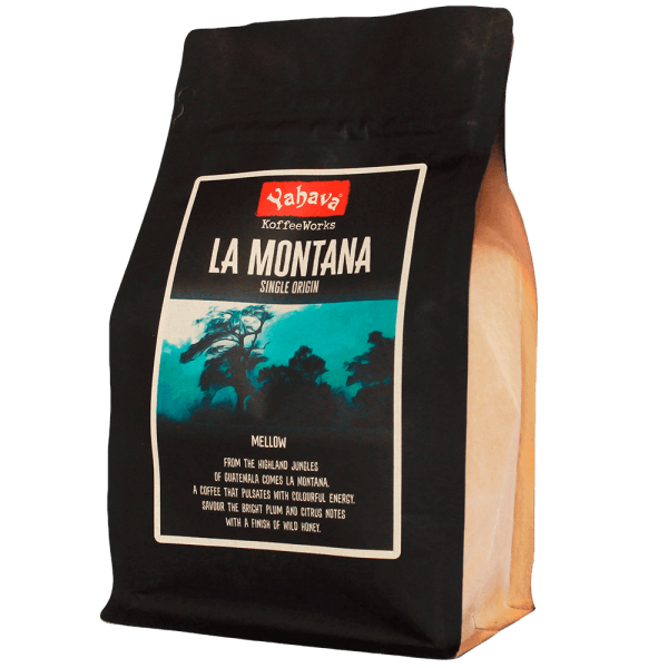 Shop Yahava's delicious La Montana coffee blend online across Australia or in a Perth Koffeeworks