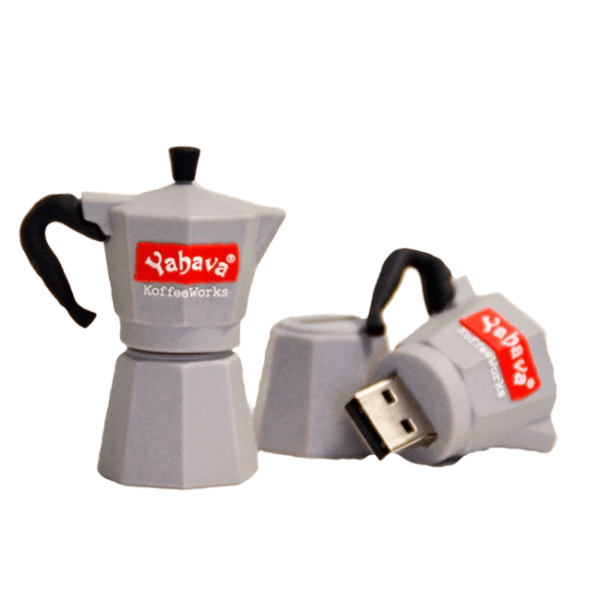 Shop at Yahava for branded Tea Pot USB (8GB) online across Australia or at a Koffeeworks in Perth