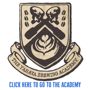 The Yahava Brewing Academy logo on a transparent background.