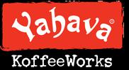 Yahava Koffeeworks logo with transparent background