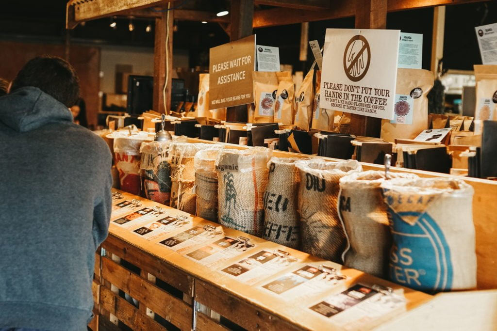 Different bags of coffee blends available for free coffee sampling at Yahava. Shop Perth's best coffee online or in store through Yahava.