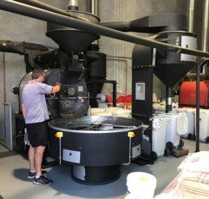 Yahava's wholesale coffee factory sends coffee and teas throughout Australia