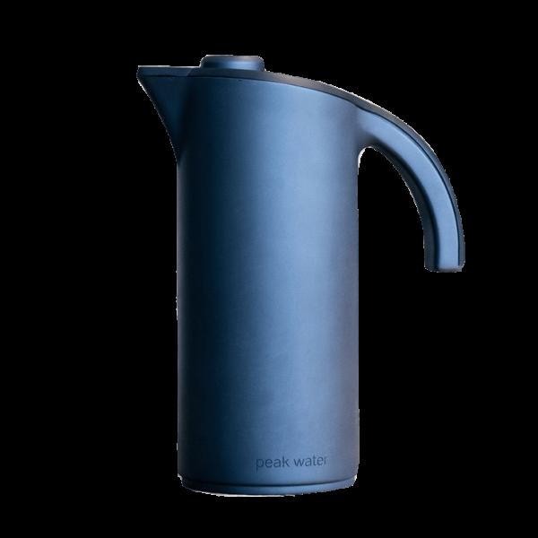 Black Peak Water Jug on transparent background. Shop coffee equipment online or inshore through Yahava.