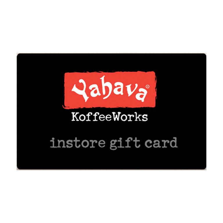 Yahava-Giftcard-Menu